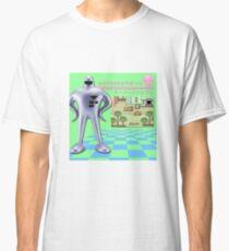 EarthBound Starmen Vaporwave (Mother 2 Retro Print) Classic T-Shirt
