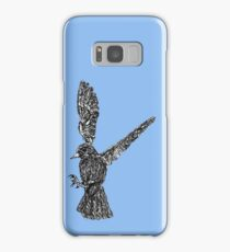 wire bird Samsung Galaxy Case/Skin