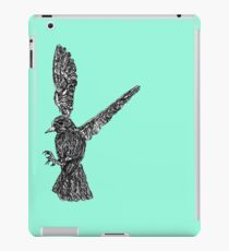 wire bird iPad Case/Skin