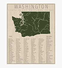 Washington Parks Photographic Print