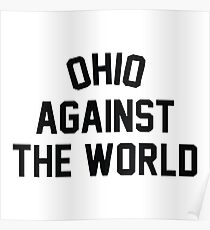 Ohio Against The World Merchandise Poster