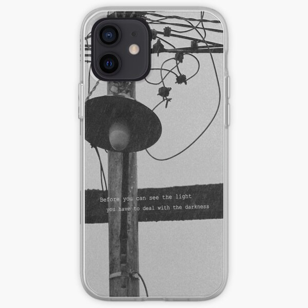 Before you can see the light iPhone Soft Case