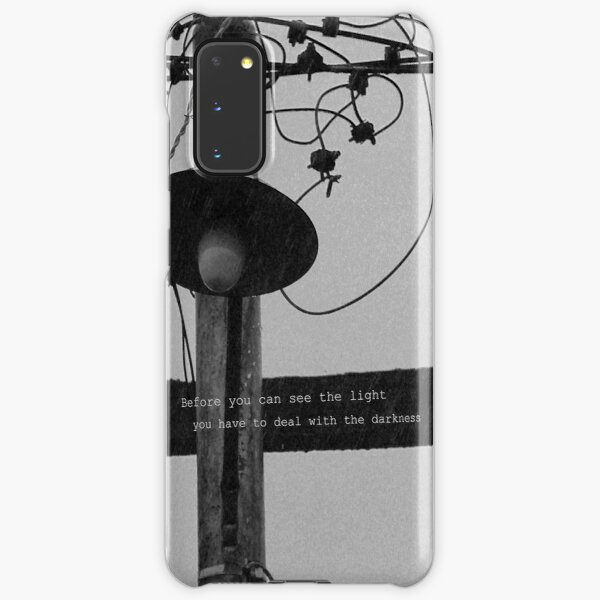 Before you can see the light Samsung Galaxy Snap Case