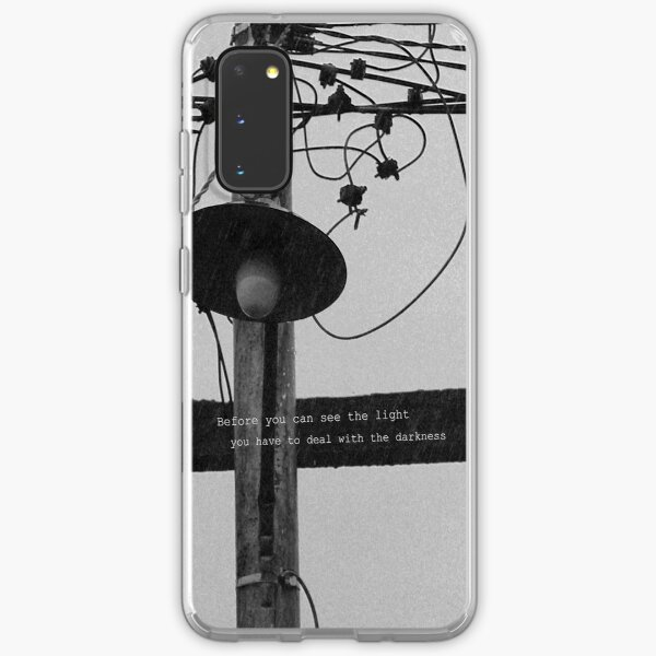 Before you can see the light Samsung Galaxy Soft Case
