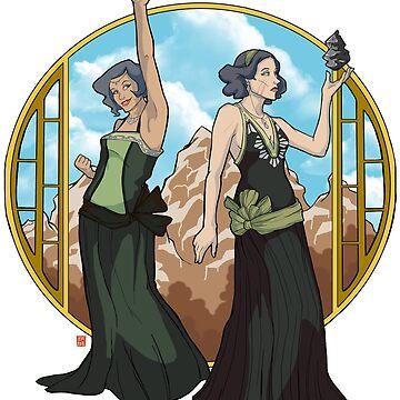 Lin & Su by elizabethamira