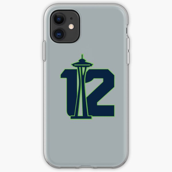 Seattle's 12th Man iPhone Soft Case