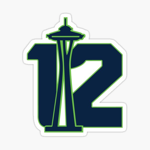 Seattle's 12th Man Sticker