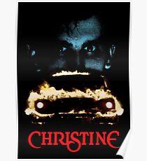 CHRISTINE Face Poster