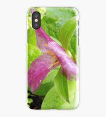 purple trillium #1 iPhone Case/Skin