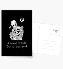 A reason to smile from 6ft Underground Postcards