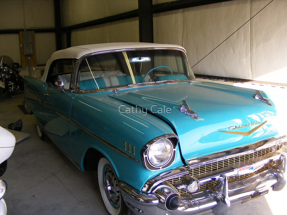 57' Chevy by Cathy Cale