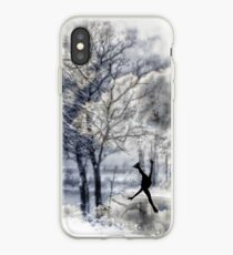 Winter Figure Skating iPhone Case