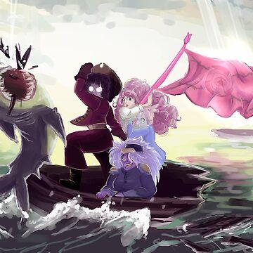 Steven Universe Crossing the Delaware? by spoonychan