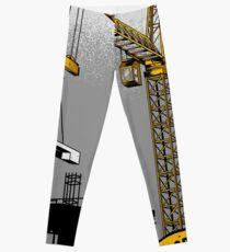 The Power Of Tower Crane Leggings