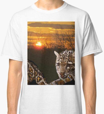 Fire Leopard Classic T-Shirt