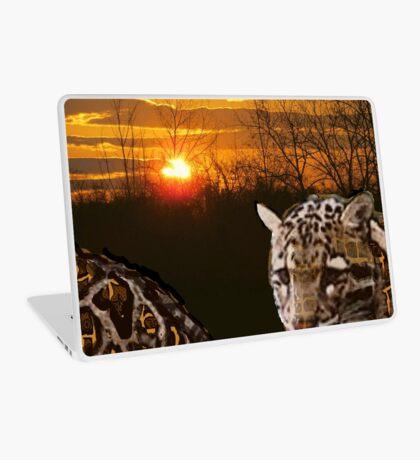 Fire Leopard Laptop Skin