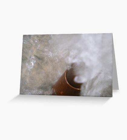 Water Spout Greeting Card