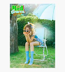the red summer - SEULGI Photographic Print