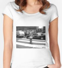New York Street Photography 40 Women's Fitted Scoop T-Shirt