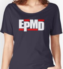 New EPMD Rap Hip Hop Music Classic Logo Women's Relaxed Fit T-Shirt
