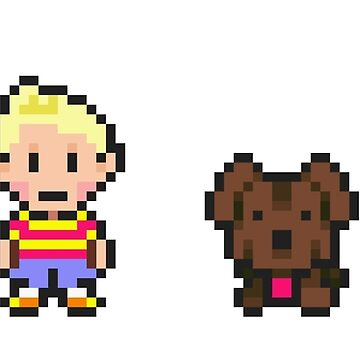 Mother 3 Print by Fried-Knight