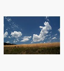 Bouncing Clouds Photographic Print