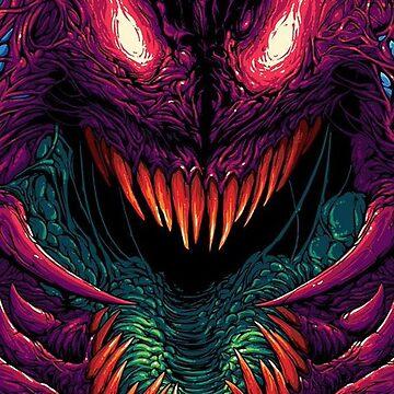 Hyper Beast Monster by aografz