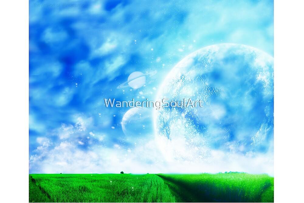 A Dreamy World by WanderingSoulArt
