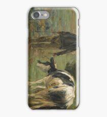 Farmer and Cow 1900 Max Liebermann iPhone Case/Skin