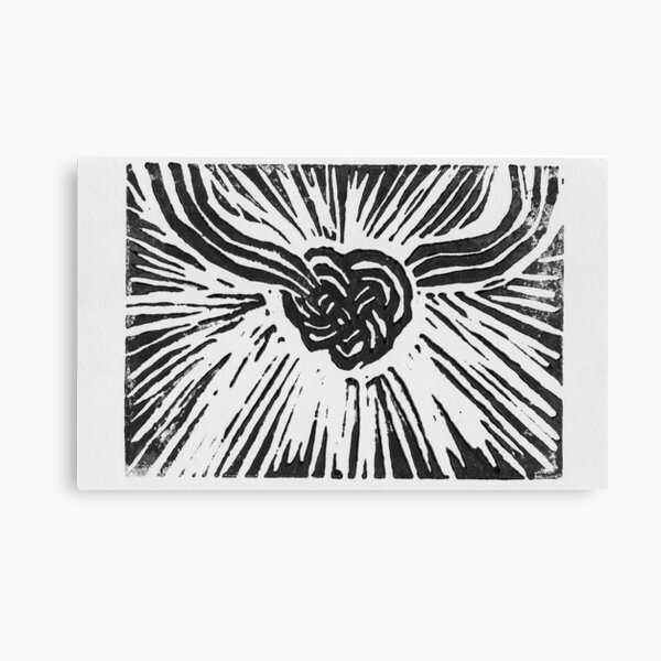 Tied with Love Canvas Print