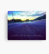 Loads of Roads Ahead Canvas Print