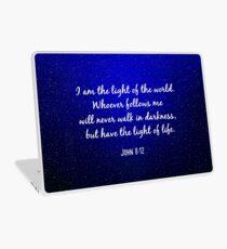 Licht der Welt - Christian Quote Laptop Folie
