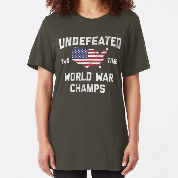 USA Undefeated World War Champs Casual Adolescent Boys Girls Unisex Sweater Keep Warm