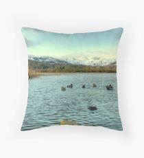 Mallards of Elterwater Throw Pillow