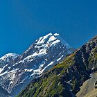 Mt. Cook from the Aoraki National Park, New Zealand #4 by Elaine Teague