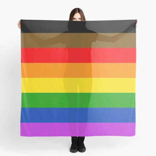 Philadelphia pride flag Scarf
