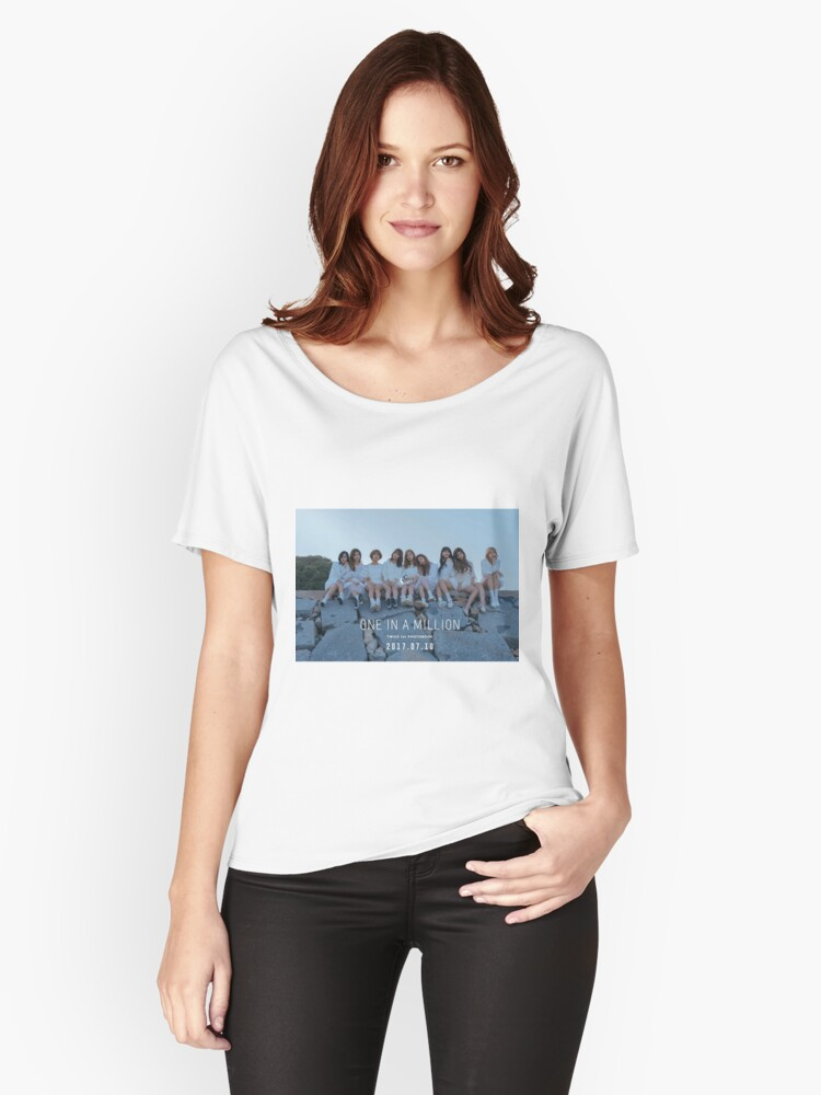 Twice One In A Million Photobook Women S Relaxed Fit T Shirts