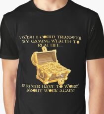 Gaming Wealth Graphic T-Shirt