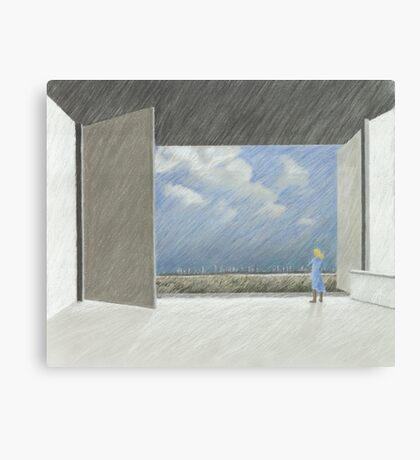 offen Canvas Print
