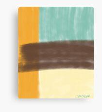 Retro Block Canvas Print