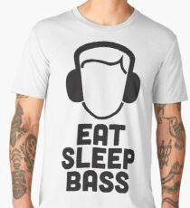 Eat Sleep Bass - When bass is life! Men's Premium T-Shirt