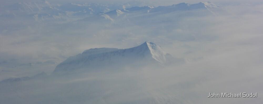 Mt. St. Elias In The Morning Fog by John Michael Sudol