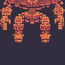 Mutant Gangland Hegemon by noppy