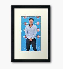 ORLANDO BLOOM Framed Print