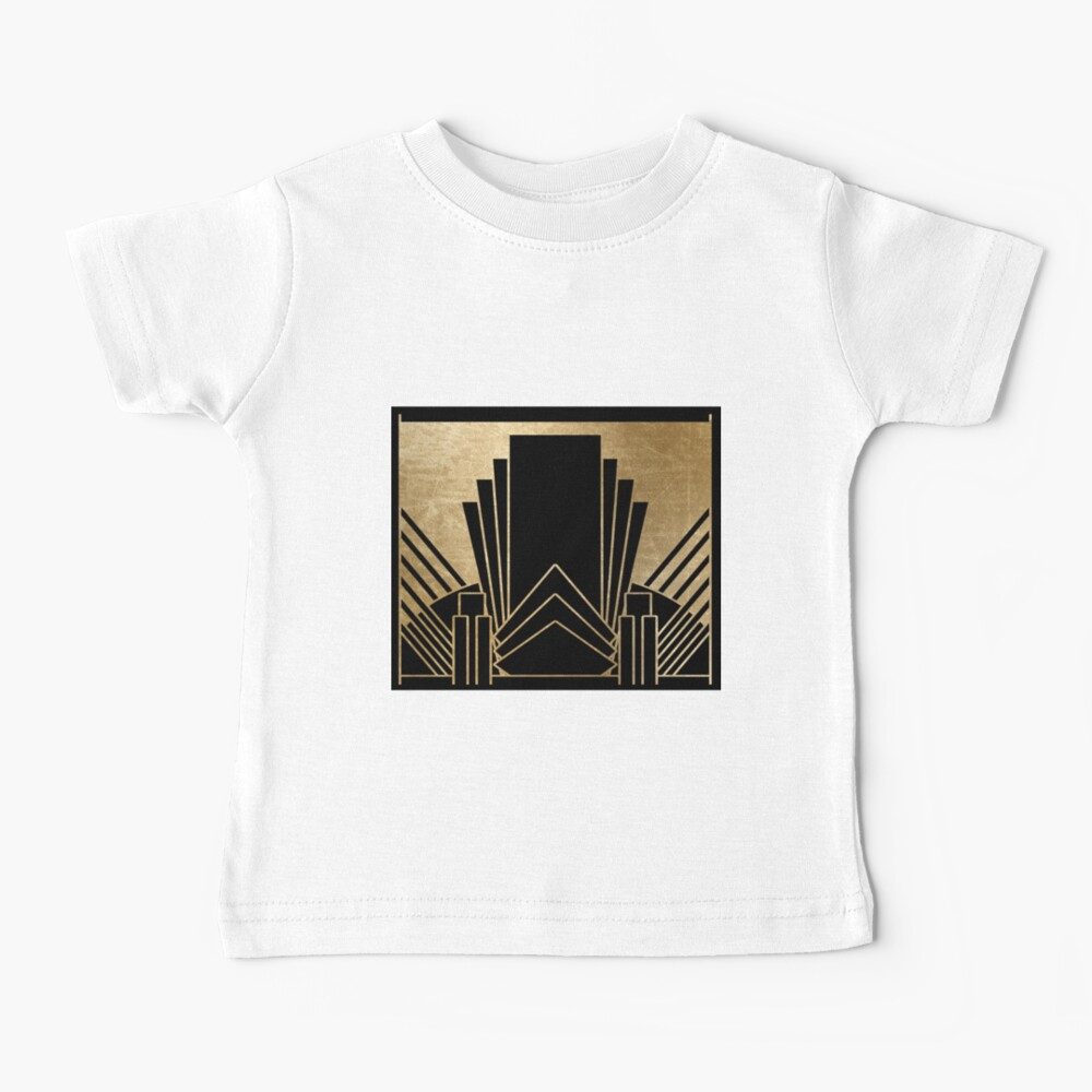 Art-Deco-Design Baby T-Shirt