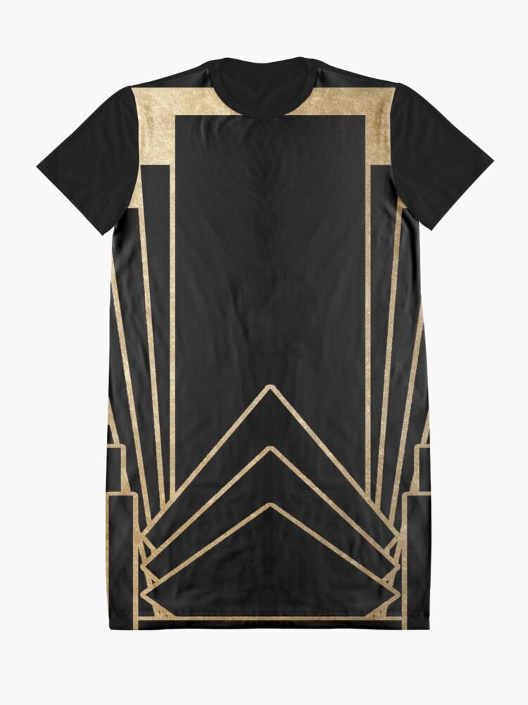 Alternative Ansicht von Art-Deco-Design T-Shirt Kleid