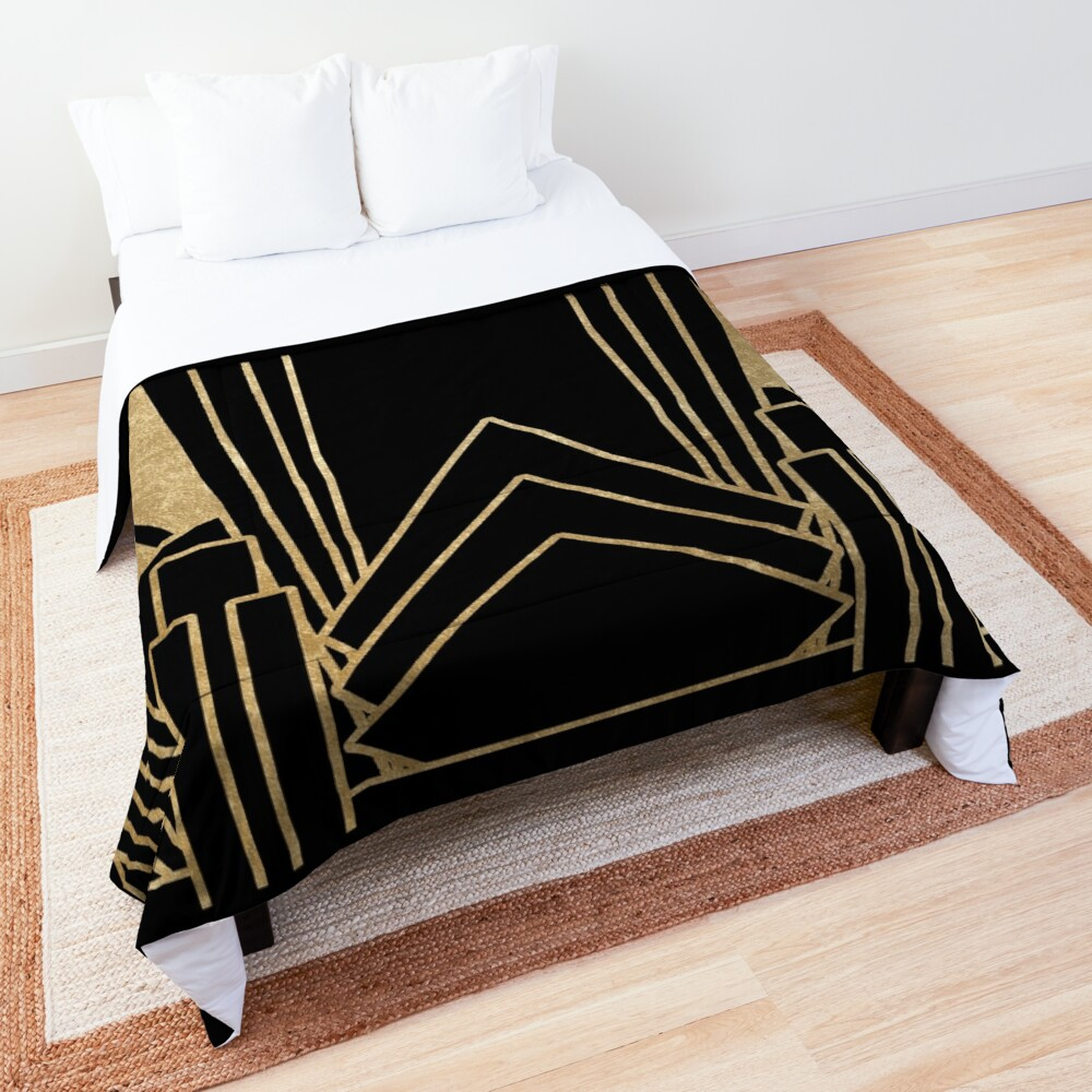 Art deco design Comforter