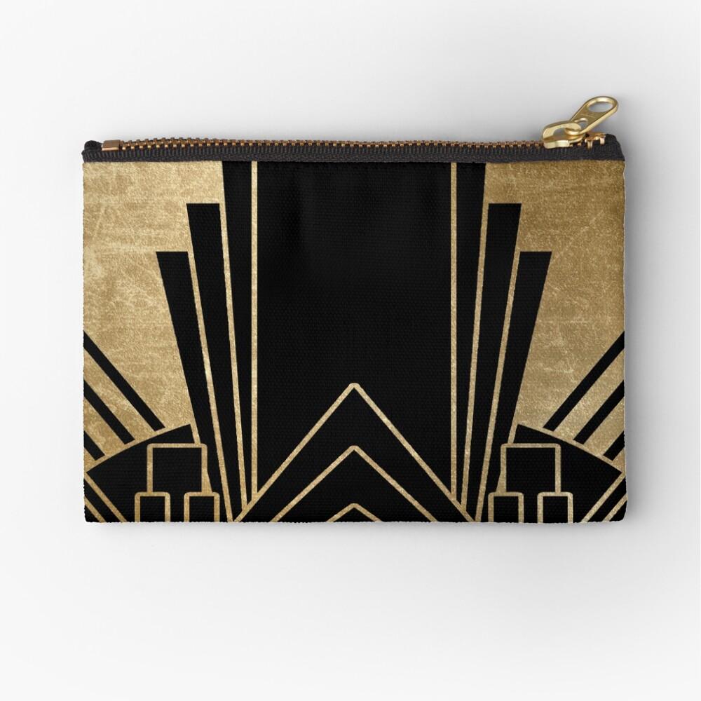 Art deco design Zipper Pouch
