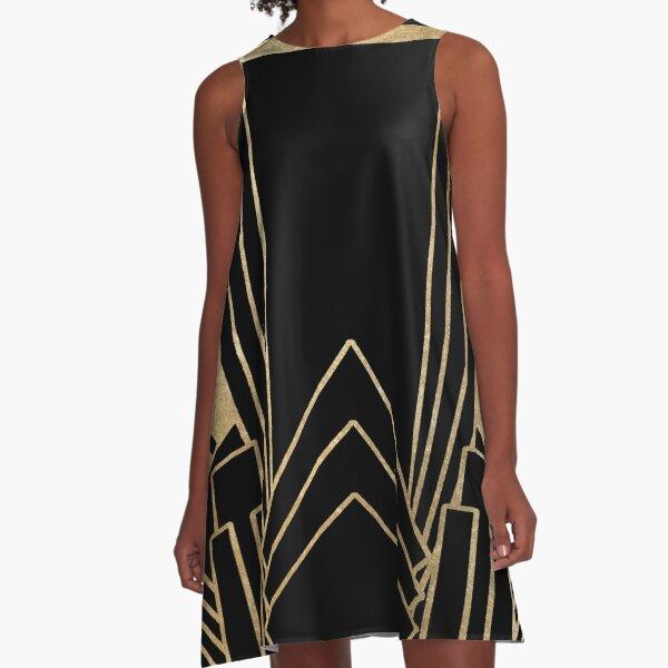 Art deco design A-Line Dress