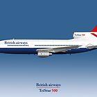 British Airways TriStar 500 by © Steve H Clark